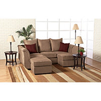 Big Sur 4 - pc. Sectional - Chocolate