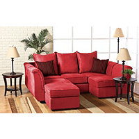 Red Big Sur 4 Pc. Sectional