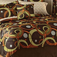Metro King Comforter Set + Sheet Set