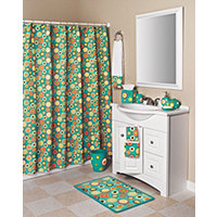 Hannah 19pc Bath Collection - Green
