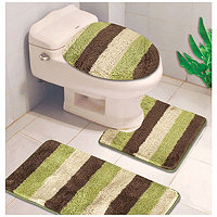 Reflections 3 pc. Bath Rugs