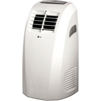 LG LP1015WNR 10,000 Btu Portable Air Conditioner with Remote Control - White photo