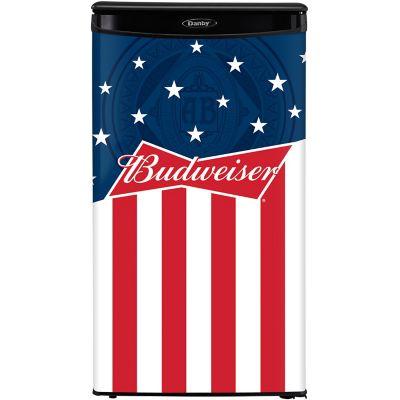 Danby 3.43 Cu. Ft. Compact Refrigerator - Budweiser Edition photo
