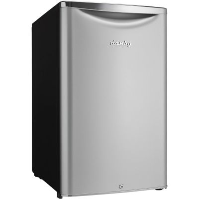 Danby 4.4 Cu. Ft. Contemporary Classic Compact Refrigerator, Silver photo