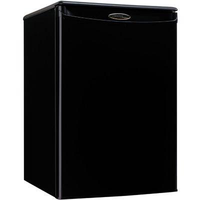 Danby Designer Energy Star 2.6 Cu. Ft. Compact All Refrigerator, Black photo