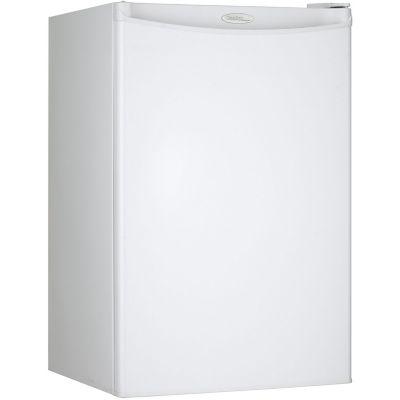 Danby Designer Energy Star 4.4 Cu. Ft. Compact Refrigerator/Freezer, White photo