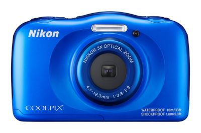Nikon Coolpix W100 Waterproof Digital Camera White