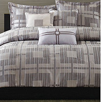 Madison Park Lodi Queen 7pc Comforter Set