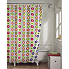 Pop Dots Reversible Shower Curtain