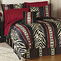 Gambia Queen Comforter Set + Sheet Set