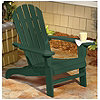 McLeland Design™ Green Cedar Adirondack Chair