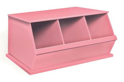 Three Bin Storage Cubby Pink $ 99.99