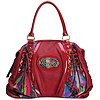 Coogi Multi-Lace Satchel