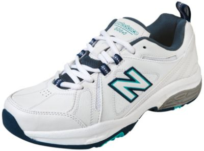Shoes Online Sale New Balance Womens 608V3 Stabiilty Crosstrain Wide White/Pink 6 1/2