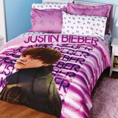 Full Size  Queen Size on Full Size Sets Justin Bieber Jb Heart Race Comforter Set