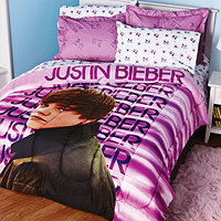 Justin Bieber Sheets on Justin Bieber Water Twin Mini Comforter Set