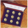 Americas Most Beautiful Gold Coins-Set of 9