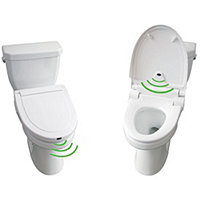Touchless Sensor Toilet Seat - Elongated
