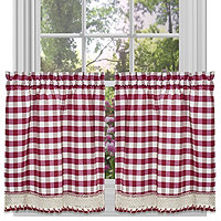 "Buffalo Check 58""x14"" Valance"