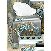 Tropical Leaf Tissue Holder