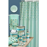 Sequins 19pc Bath Collection - Aqua