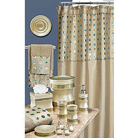 Sequins 19pc Bath Collection - Taupe