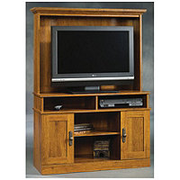 Harvest Mill Entertainment Center - Oak