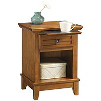 Homestyles Arts & Crafts Nightstand