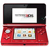 Nintendo 3DS Console in Flame Red
