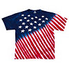Liquid Blue Men's Stars & Stripes T-Shirt