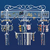 The Ultimate Jewelry Valet Organizer - White