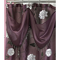 Avanti Purple Shower Curtain