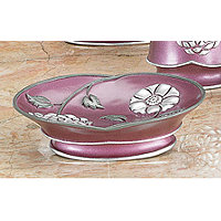 Avanti Purple Soap Dish