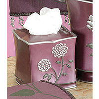 Avanti Purple Tissue Holder