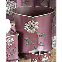 Avanti Purple Wastebasket