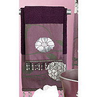 Avanti Purple 3pc Towel Set