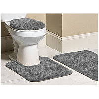 Mohawk 3pc Bliss Bath Rug Set - Grey