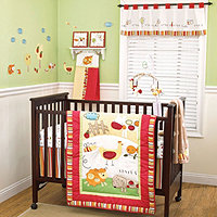 CoCo and Company Baby Farm 4Pc Crib Set