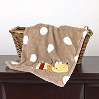 CoCo and Company Baby Farm Sherpa Blanket