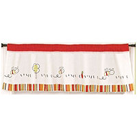CoCo and Company Baby Farm Window Valance