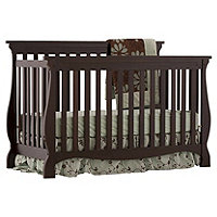 Carrara 4 in1 Fixed Side Convertible Crib Expresso