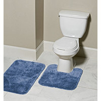 MyHome 2pc Bath Rug Set - Blue Monday