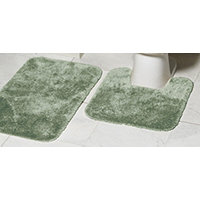 MyHome 2pc Bath Rug Set - Cactus