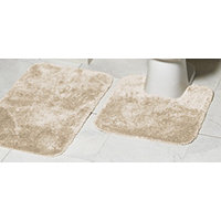 MyHome 2pc Bath Rug Set - Linen