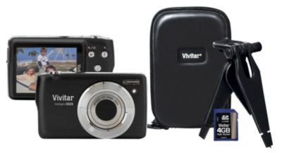 Buy Vivitar Cameras - Vivitar 16 MP/5x Zoom Camera Bundle Black