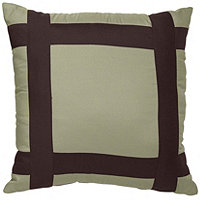 McLeland Design Mykonos Hotel 18x18 Blocked Pillow