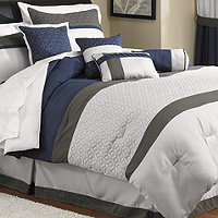 McLeland Design Nelson Queen Comforter Set