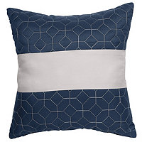 "McLeland Design Nelson 14""x14"" Pieced Pillow"