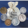 Bankers Bag Of Over 60 Historic Coins