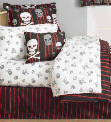 Skull Bedding Totally Kids Totally Bedrooms Kids